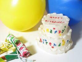Hvordan feire barnets første bursdag