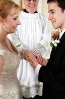 Første trinn i søknaden for et ekteskap lisens i California