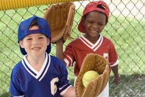 Baseball tema Birthday Party Games