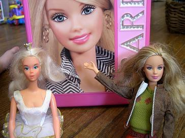 Typer av Barbie-dukker