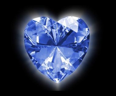 Effekter av Black Light på Diamond