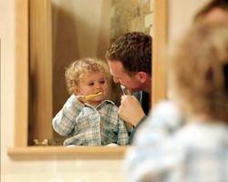 Hvordan lære barna å pusse tennene