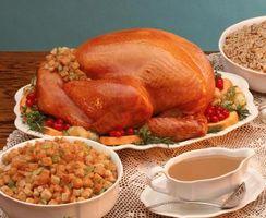 Hva mat du tjene for en amerikansk tradisjonell julemiddag?