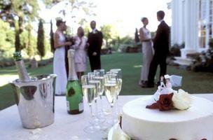 Slik Dekorer en Wedding Table Med Real Food