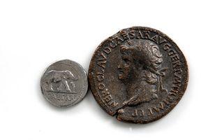 Hva er en romersk mynt?