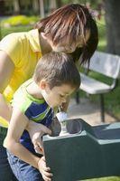 Hvordan finne en Utenfor drikkefontene for barn å bruke