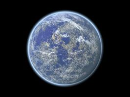 Hva er Polar & Equatorial diameter på jorden?