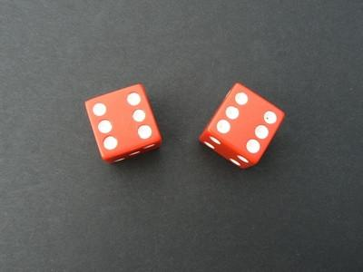 Veiledning for spill som spilles med terninger