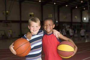 Fun ball spillet Aktiviteter for førskolebarn