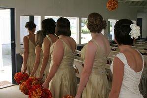 Bryllups halvår frisyrer