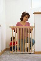 Sikkerhetstiltak for Children Bare lære å gå hjemme
