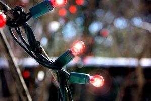 Hvordan lage en elektrisk String Lys