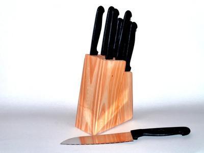 Hvordan bygge en Wooden Knife Block