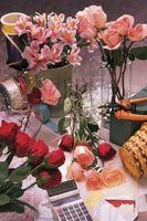 Hvordan lage en Cascade Lily & Rose brudebukett