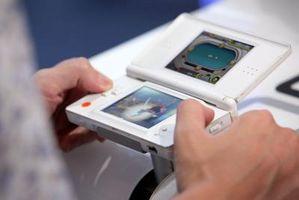 Hvordan slette minnet på en brukt DS spill