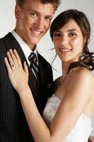 Gjør-det-selv Winter Wedding Reception
