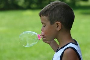 Barneaktiviteter med bobler