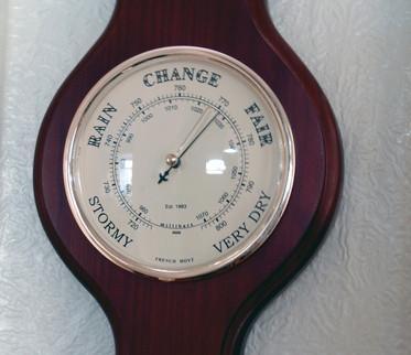 Forstå barometerlesinger