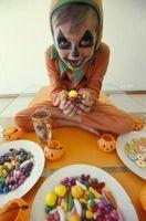 Hva skjer hvis barn spiser for mye godteri eller søtsaker?