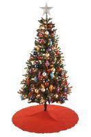 Luksus kunstige juletrær