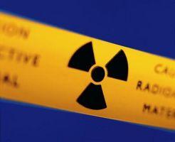 Typer av radioaktive partikler