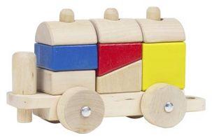Hvordan Paint en Wooden Toy Train