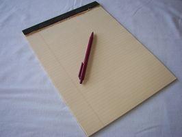 Hvordan skrive et essay om livet ditt