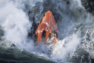Hva er bergarter dannet Fra Lava og er avkjølt raskt kalt?