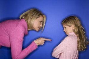 Hvordan være fast med barn uten Spanking