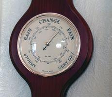 Instrumenter brukes til å måle lufttrykk