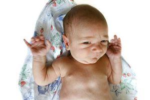 Utvikling av en seks ukers gamle baby