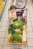 Høye kalori diett for småbarn