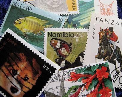 Typer av frimerkesamlinger