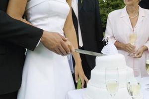 Hvilken type ising på Wedding kaker?