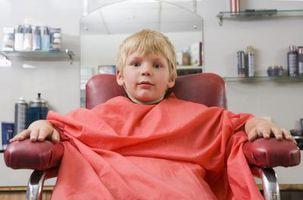 Hair Cutting spill for gutter