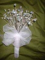 Hvordan lage Crystal bryllup buketter og boutonnieres