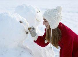 Snø Aktiviteter med barn